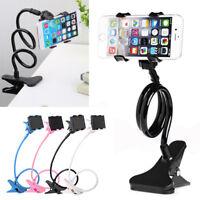 Mobile Phone Lazy Bracket Stand Holder Flexible Car Bed Desk For iPhone Samsung