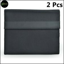 """10"""" Tablet Organiser Compendium Fit up to  Tablets Black Travel Folio Wallet X 2"""