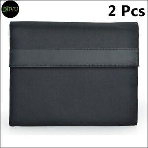 "2 X 10"" Black Tablet Organiser Compendium Tablets Travel Folio Wallet AU"