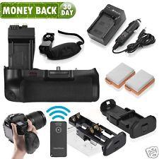 BG-E8 Battery Grip + 2x LP-E8 Battery & Charger for Canon 550D 600D T3i T4i T5i