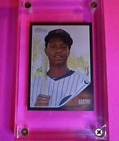 2011 Topps Heritage Baseball Black #C5 Starlin Castro Chicago Cubs