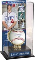 Clayton Kershaw Los Angeles Dodgers 2014 NL Cy Young Gold Glove & Image Case