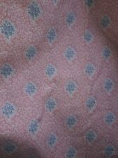 """Waverly Quilt Country Pink Blue Cotton Quilting Sewing Craft  Fabric 2.5ydsX45"""""""