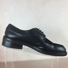 9c7aa2716f8c MEZLAN B81 Niagara Black Leather Pinstripe Toe Oxfords Casual Formal Mens  10.5M