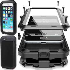 Aluminium Heavy Duty Gorilla Metal Body Cover Case For iPhone XS X 8 7 6 SE S10+