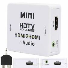 HDMI Digital Audio Extractor To 3.5mm Jack RCA Stereo Splitter Analog Converter