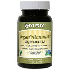 MRM, Vegan Vitamin D3, 5,000 IU, 60 Vegan Kapsel