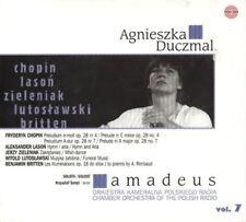 CD AGNIESZKA DUCZMAL / Chopin, Britten, Lutoslawski Orkiestra Kameralna AMADEUS