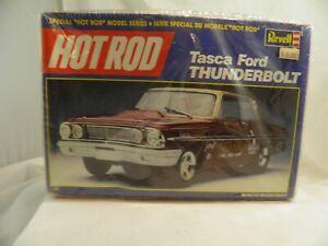 Revell Hot Rod Tasca Ford Thunderbolt 1:25 Plastic Model Kit 7450 Open Box Toys