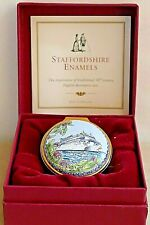STAFFORDSHIRE ENAMELS Barclays Life Collection ~ Caribbean Cruise 1998 ~ Ltd Ed