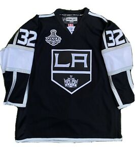 Reebok 2012 Stanley Cup Jonathan Quick LA Kings Authentic Jersey Size 54