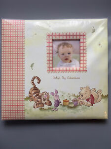 Disney Classic Winnie The Pooh Scrapbook Baby Adventures Photo Album 12x12 NEW