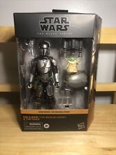 Star Wars Black Series Din Djarin Mandalorian & The Child Target In HAND Now!