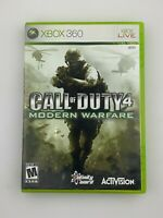 Call of Duty 4: Modern Warfare - Xbox 360 Game - Complete & Tested