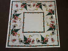 Swedish Almedahls Christmas Tablecloth Jenny Nystrom Artwork Made in Sweden