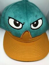 Disney Perry the Platypus Duck Face Hat Cap Phineas and Ferb SnapBack