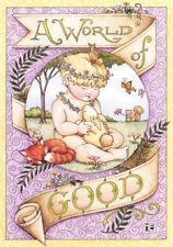 A World Of Good Angel Spring-Handcrafted Fridge Magnet-W/Mary Engelbreit art