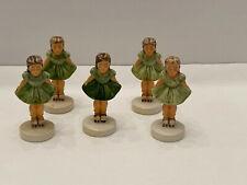 5 In A Lot Sebastian Miniature Girl On Roller Skates 1978