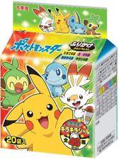 Pokemon Furikake,sprinkle seasoning,4 flavors Assort Pack,pokemon sticker in