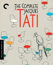 THE COMPLETE JACQUES TATI CRITERION COLLECTION 7-DISC BLU-RAY SET [BRAND NEW]
