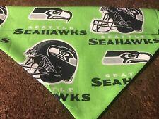Seattle Seahawks NFL Over The Collar Dog Bandana
