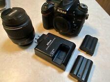 Nikon D7100 24 MP Digital SLR Camera with Lens. No Reserve - Free shipping