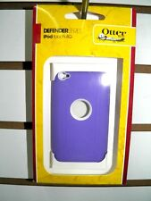 OTTER BOX DEFENDER PURPLE/WHITE  IPOD TOUCH 4TH GENERATION ORIGINAL NEW IN BOX