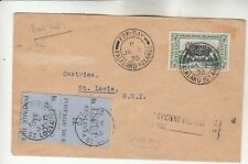 Falkland Islands Cover w/ Postage Due Stamps