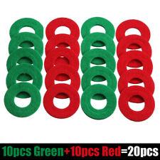Anti Corrosion Battery Terminal Washers, Bag 20 Felt Washers 10 Set Red+Green