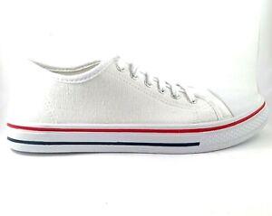 boohoo White Low Top Sneaker Women's shoes US 8, UK 6, EU 39, 25.1 cm