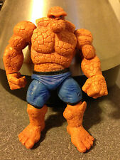 """Marvel Universe THE THING Fantastic 4 Four 3.75"""" Action Figure Blue Variant"""