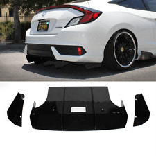 2016-2019 Honda Civic Rear Diffuser ( Coupe )