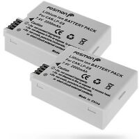 2x 2000mAh LP-E8 Replacement Battery for Canon EOS Rebel T2i T3i T4i T5i 550D X6