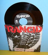 "RANCID crane fist - 4 song ep 7"" Record punk Vinyl"