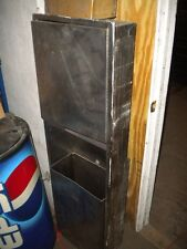 Stainless steel wall build-in napkin dispenser / trash can - SEND OFFER!