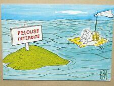 CPSM HUMOUR - PIEM - PELOUSE INTERDITE - NAUFRAGE