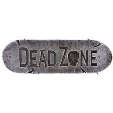Gothic Zombie Warning Sign-DEAD ZONE-Halloween Prop Haunted House Decoration-NEW