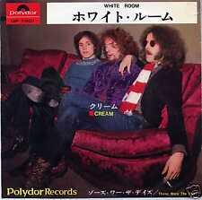 "CREAM ""WHITE ROOM"" ORIG JAPAN W/PS RARE 1967"