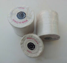 White Buffing 4'' 100mm Mop Polish Buffer Cloth Wheel Kit Polishing Wheel Arbor