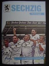TSV 1860 München - FC Pipinsried 06.10.2017 Programm Regionalliga Bayern
