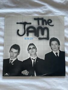 the jam - In The City  1st Pressing