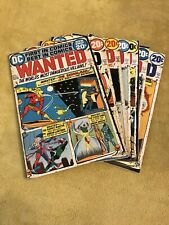 Comic Book Lot: Dc's Wanted #1 2 3 4 5 6 7