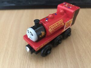 Authentic Learning Curve Wooden Thomas Train Puppet Show Skarloey! VGUC