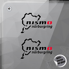 PEGATINA NURBURGRING NISSAN NISMO VINYL DECAL VINYL STICKER AUTOCOLLANT