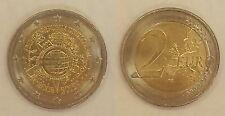 Alemania 2 euros 2012, 10 años de Euro J * 1354 *.