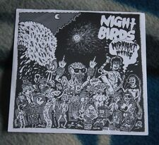 "NIGHT BIRDS MIDNIGHT MOVIES 2011 US 7""  NO WAY RECORDS NW-50 + INSERT"
