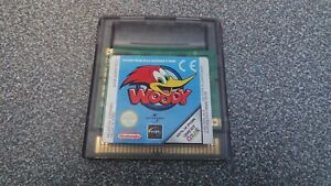 WOODY WOODPECKER ESCAPE FROM BUZZ BUZZARDS PARK GAMEBOY COLOR ADVANCE SP