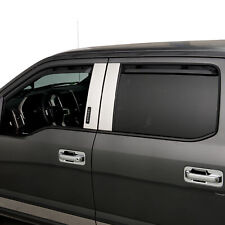 Putco 580143 Element Tinted Window Visors 4-Pc Fits 09-14 Ford F-150 SuperCrew