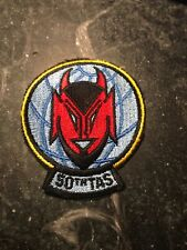 """50th Tactical Airlift USAF Squadron Patch Rare Vtg Cold War 70s 80s 3"""" TAS"""