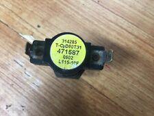 Pentair 471587 Hi-Limit Thermostat 115 F fits Minimax pool heater